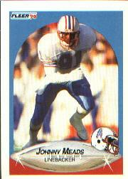 1990 Fleer #132 Johnny Meads