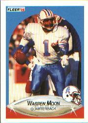 1990 Fleer #133 Warren Moon UER