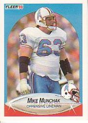 1990 Fleer #134 Mike Munchak