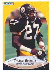 1990 Fleer #141 Thomas Everett