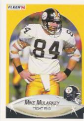 1990 Fleer #148 Mike Mularkey