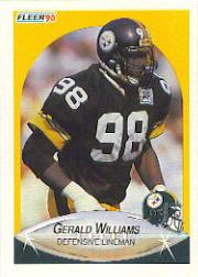 1990 Fleer #150 Gerald Williams UER RC