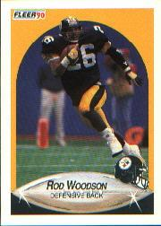 1990 Fleer #152 Rod Woodson