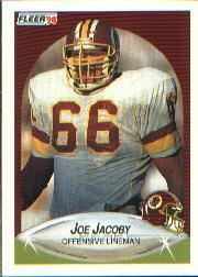 1990 Fleer #157 Joe Jacoby