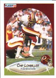 1990 Fleer #159 Chip Lohmiller