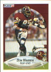1990 Fleer #168 Don Warren