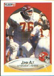 1990 Fleer #197 John Alt RC