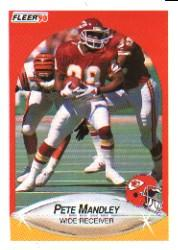 1990 Fleer #204 Pete Mandley