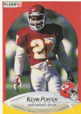 1990 Fleer #208 Kevin Porter RC