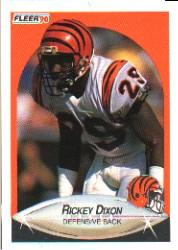 1990 Fleer #213 Rickey Dixon RC