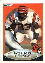 1990 Fleer #215 David Fulcher