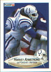 1990 Fleer #224 Harvey Armstrong RC