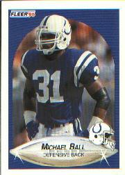 1990 Fleer #225 Michael Ball RC