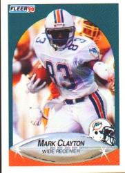 1990 Fleer #236 Mark Clayton