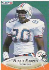 1990 Fleer #240 Ferrell Edmunds