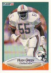 1990 Fleer #241 Hugh Green UER