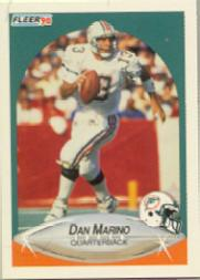 1990 Fleer #244 Dan Marino front image