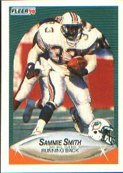 1990 Fleer #247 Sammie Smith