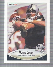 1990 Fleer #257 Howie Long UER