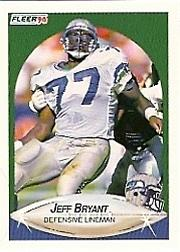 1990 Fleer #264 Jeff Bryant