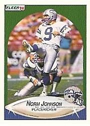 1990 Fleer #268 Norm Johnson