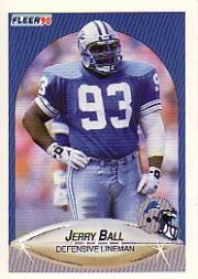 1990 Fleer #276 Jerry Ball