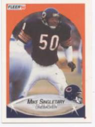 1990 Fleer #299 Mike Singletary