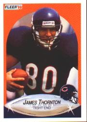 1990 Fleer #300 James Thornton UER