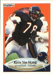 1990 Fleer #302 Keith Van Horne