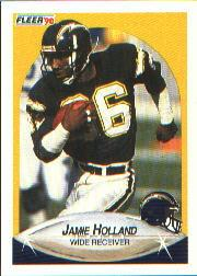 1990 Fleer #309 Jamie Holland