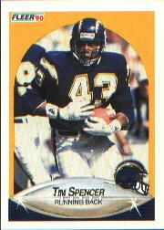 1990 Fleer #314 Tim Spencer