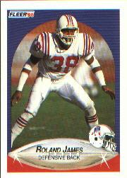 1990 Fleer #320 Roland James