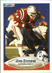 1990 Fleer #328 John Stephens