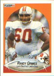 1990 Fleer #344 Randy Grimes