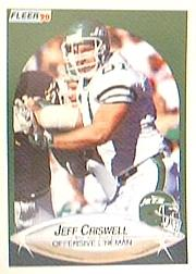 1990 Fleer #359 Jeff Criswell RC