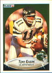 1990 Fleer #360 Tony Eason