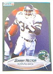1990 Fleer #362 Johnny Hector