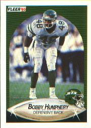 1990 Fleer #363 Bobby Humphery UER