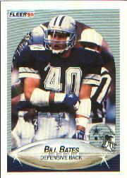 1990 Fleer #385 Bill Bates