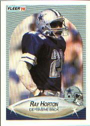 1990 Fleer #388 Ray Horton UER
