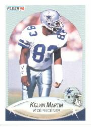 1990 Fleer #392 Kelvin Martin RC