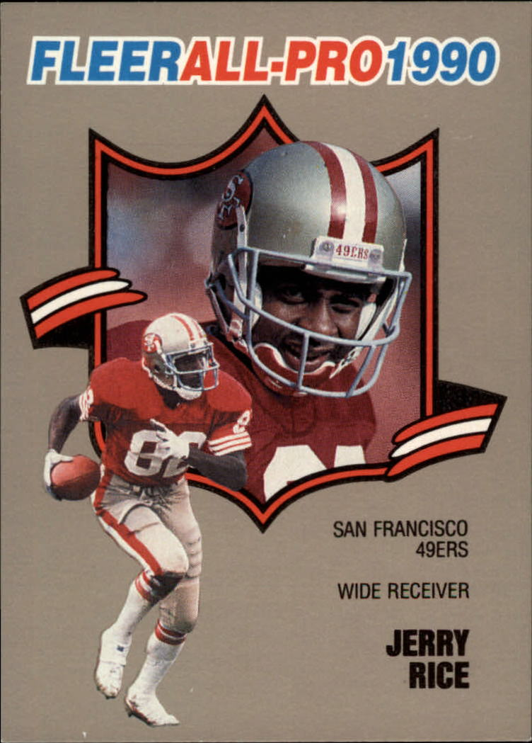 1990 Fleer All-Pros #2 Jerry Rice