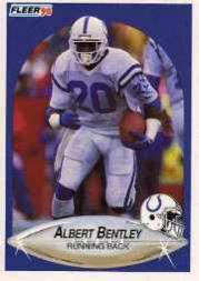 1990 Fleer Update #U1 Albert Bentley