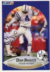 1990 Fleer Update #U2 Dean Biasucci