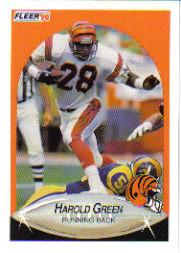 1990 Fleer Update #U9 Harold Green RC