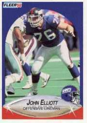 1990 Fleer Update #U10 John Elliott