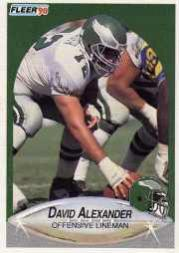 1990 Fleer Update #U15 David Alexander RC