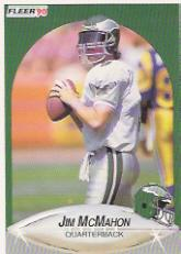 1990 Fleer Update #U16 Jim McMahon