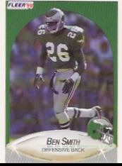 1990 Fleer Update #U17 Ben Smith RC