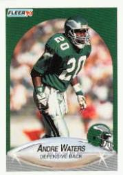 1990 Fleer Update #U18 Andre Waters